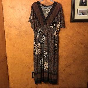 Dresses & Skirts - Animal print long dress
